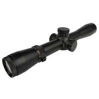 3.5-10X40 Rifle Scope with Unilluminated Mil Dot Reticle