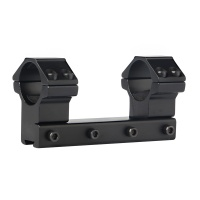 High Dual Ring Scope Mount 1""