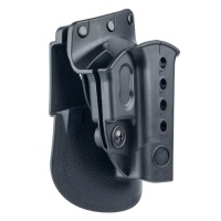 Evolution 2 Paddle Holster For Glock 17/19/22/23/31/32/34/35/Walther PK 380/Kahr CW 40/P45/P40/PM40/CM40 Black Right Hand