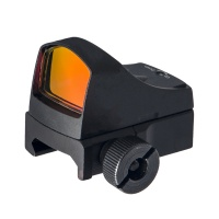 DOC 3 Mini Reflex Red Dot Sight with Auto Brightness QD Black