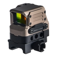 FC1 Red Dot Reflex Sight Holographic Sight with 20mm Rail TAN