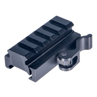 5-Slot Medium Profile QD Lever Mount Adaptor and Riser
