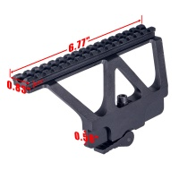AK 47/74 Quick Detach Side Picatinny Rail Scope Mount