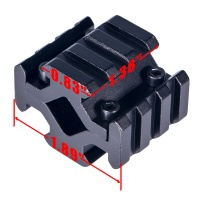 3 Slot Universal Quad Rail Barrel Mount