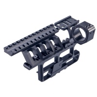 AK-307 Full-Length Optic Rail for 25.4mm 30mm Scope Black