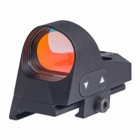 ANS Mini 1x25 3 MOA Red Dot Reflex Sight with Picatinny Mount Black