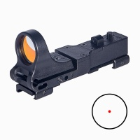 ANS Tactical Red Dot Sight Reflex Sight C-MORE Red Illumination Scope for Hunting BK