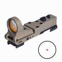 ANS Tactical Red Dot Sight Reflex Sight C-MORE Red Illumination Scope for Hunting DE