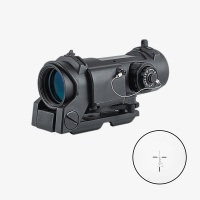 DR 4X32F Rifle Scope with Illuminated Crosshair Reticle