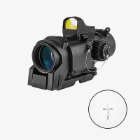 1-4X32F Magnified Rifle Scope with Mini Red Dot Reflex Sight