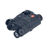ANS tactical outdoor hunting aiming light AN/PEQ 15 Red Dot Laser integrated with LED Flashlight