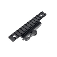 13 Slots Riser Mount Picatinny  Rail with QD Lever