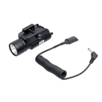 Tactical Pistol LED Flashlight with 20mm Weaver/Picatinny rail for Outdoor Hunting