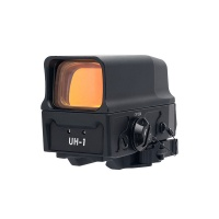 Optics AMG UH-1 Holographic Sight 1x 1 MOA Dot with Integral Weaver / Picatinny Mount