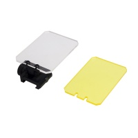 Square Lens Cover Shields Rail Mounted Sight Protector