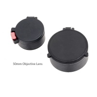 ANS Rubber Flip-Up Lens Caps Covers for 50mm Scope Optics