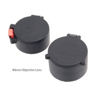 ANS Flip-Up Lens Cap Scope Covers 40mm