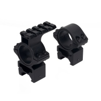 30mm 25.4mm QD Mount with Top Rail and Low Profile Mount Set