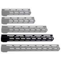 ANS 15 Inch M-LOK Handguard  Picatinny Top Rail for AR-15 Rifles