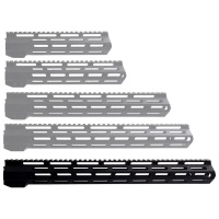 ANS 16.5 Inch M-LOK Handguard  Picatinny Top Rail for AR-15 Rifles