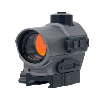 D10 Red Dot Sight 1.5 MOA Manual Key Switch with 20mm Riser Moun Gray