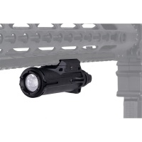 Tactical XH15 Polymer LED Weapon Light BK