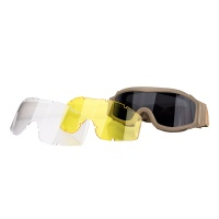 2019 Outdoor Sports Motorcycling Glasses hunting goggles Wind Dust Protection Tactical Glasses TAN