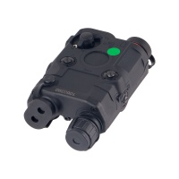 PEQ 15 Green Dot Laser integrated with LED Flashlight IR BK