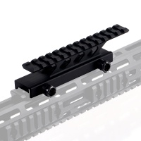 "5.5"" 13-slot High Profile Picatinny Riser Mount"