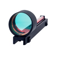 1x25 Shotgun Fiber Red Sight Circle Dot