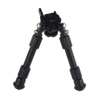 "Rifle Bipod Quick Detach Picatinny Rail 6- 9"" Bipod"