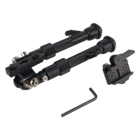 "M-LOK Bipod with Quick Detach Picatinny Rail 6 - 9"" Bipod"