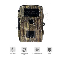 Trail Camera 12MP 1080P Full HD IR sensor Scouting Hunting Camera with Motion Activated Night Vision