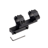 30mm Extended Offset One Piece Dual Scope Rings for 11mm Dovetail Rail
