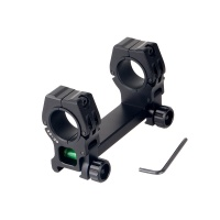 "One Piece Bubble Level Picatinny Rail 1"" 30mm High Profile Scope Mount"