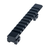 Dovetail to Picatinny Adaptor Mount 10 Slot