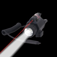 M6 Tactical Flashlight with Red Laser