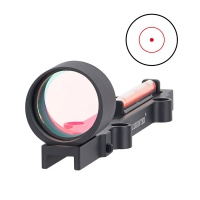 1x28 Red Dot Fiber Shotgun Sight