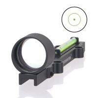 1x28 Shotgun Green Fiber Dot Sight