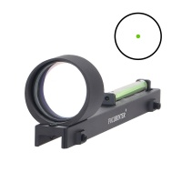 1X28 Fiber Green Dot Sight for Shotgun