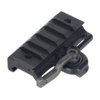 Quick Detach Lever Lock Picatinny Mount Adaptor Riser​