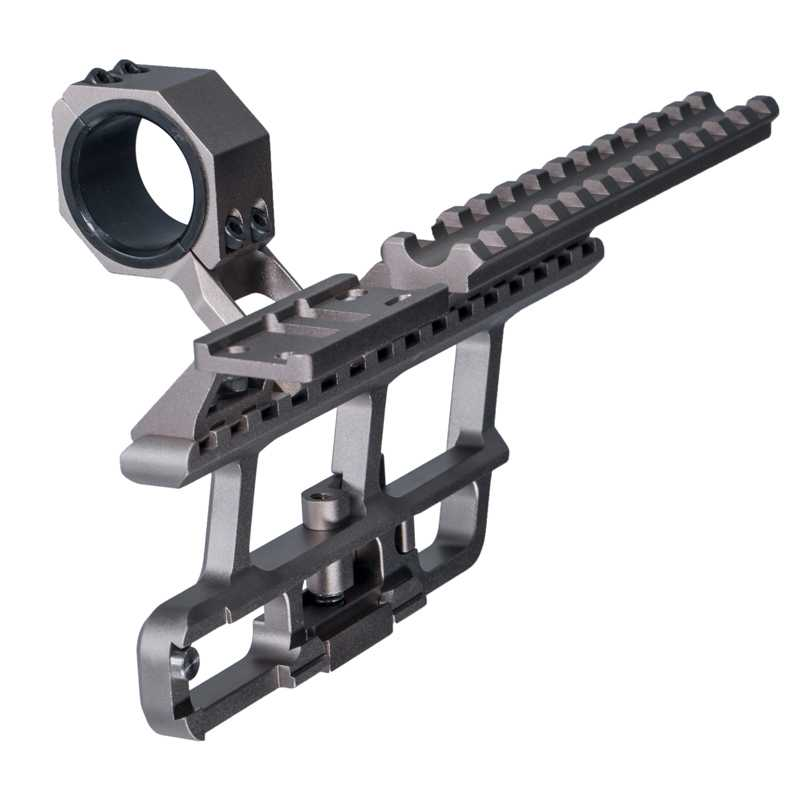Tactical 30mm Ring 20mm Picatinny Rail Scope Mount for rifle sight Aluminum