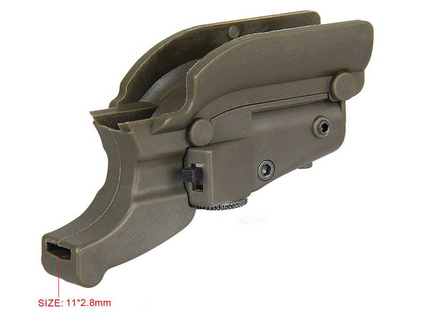 Red Laser Sight for M92 with Lateral Grooves-Wholesale in Guangzhou