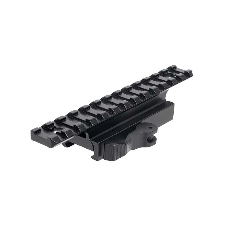 Rifle Scope Quick Release Mount Adapter Base with 20mm Picatinny Weaver Rail