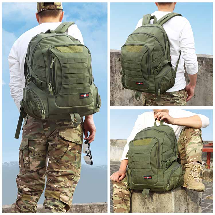 Tactical Military Backpack MOLLE for Outdoor Hunting Hiking Camping Trekking Traveling