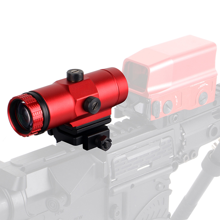 3X Red Magnifier Scope